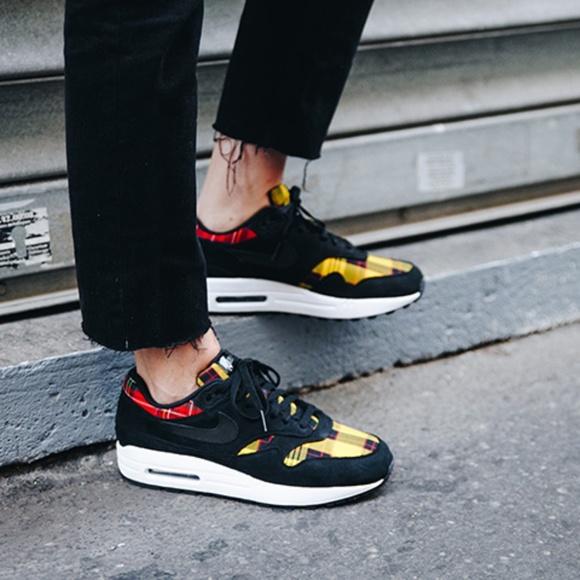Nike Shoes | Nike Air Max Tartan | Poshmark